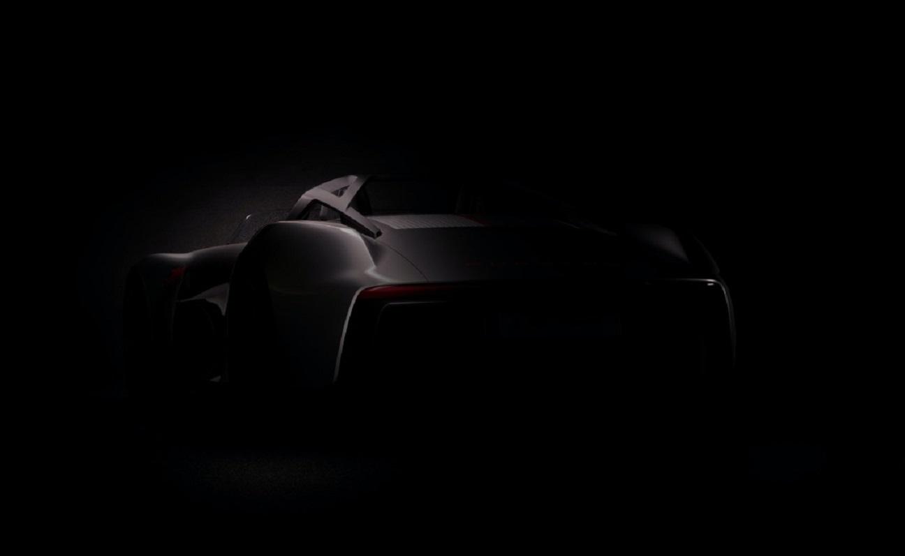 Porsche mostra un misterioso modello