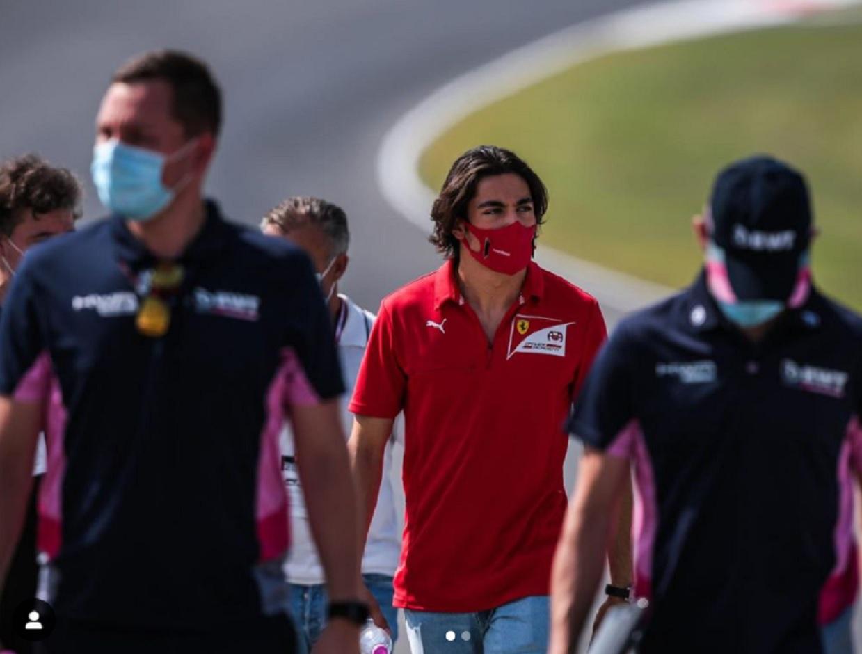 Giuliano Alesi licenziato dalla Ferrari Academy