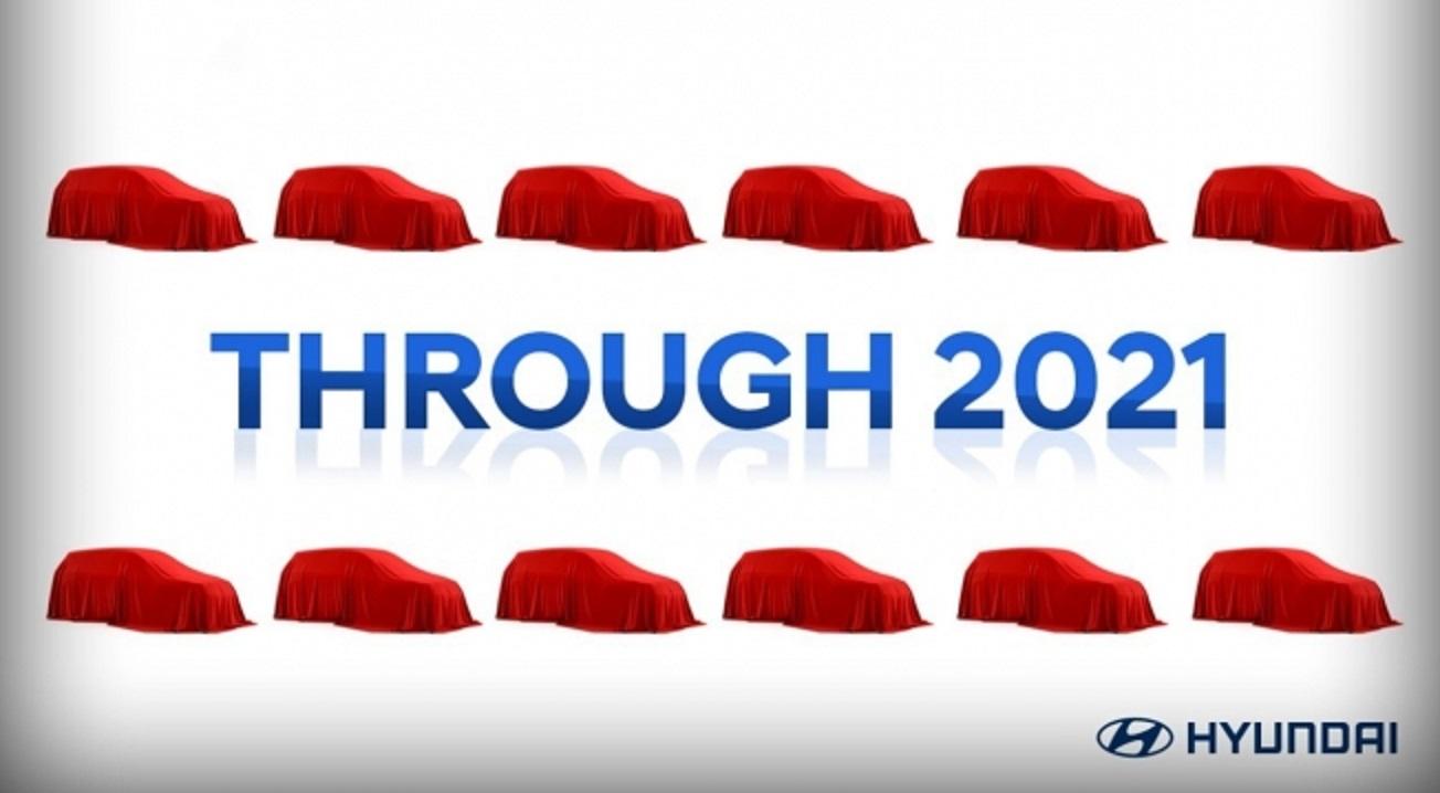 Hyundai conferma il lancio di 12 SUV nel 2021