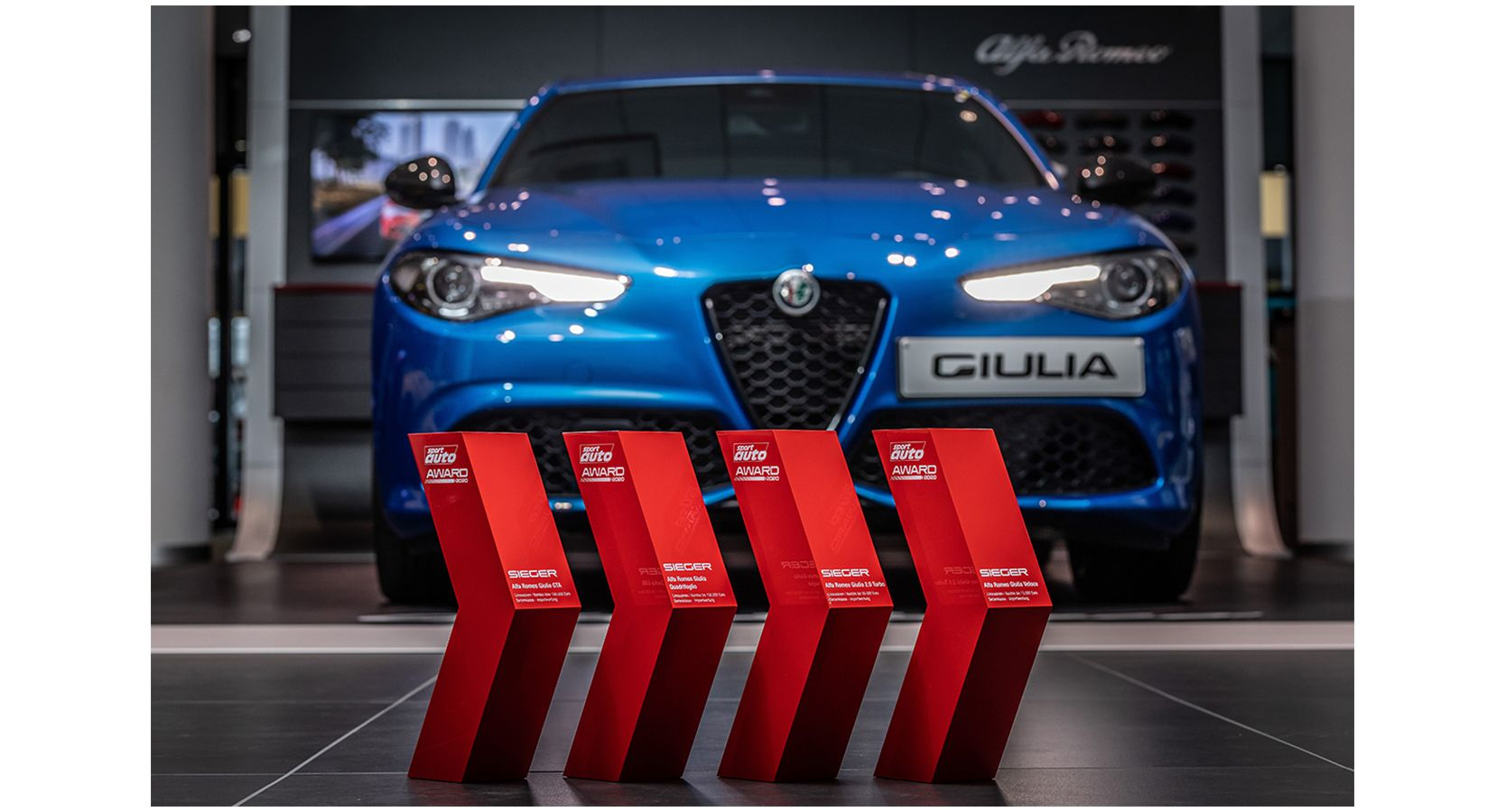 Alfa Romeo Giulia trionfa ancora in Germania