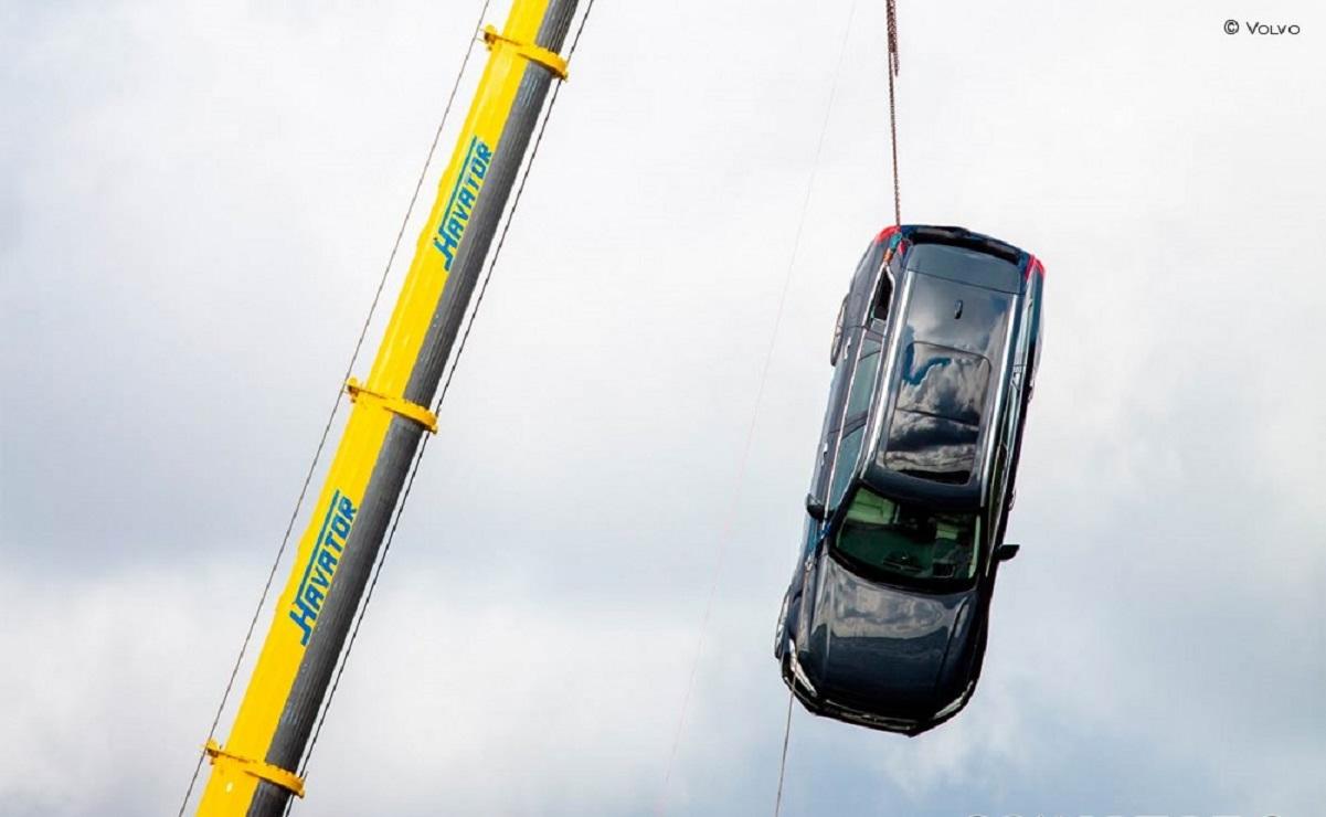 Volvo lancia nuove auto da 30 metri di altezza