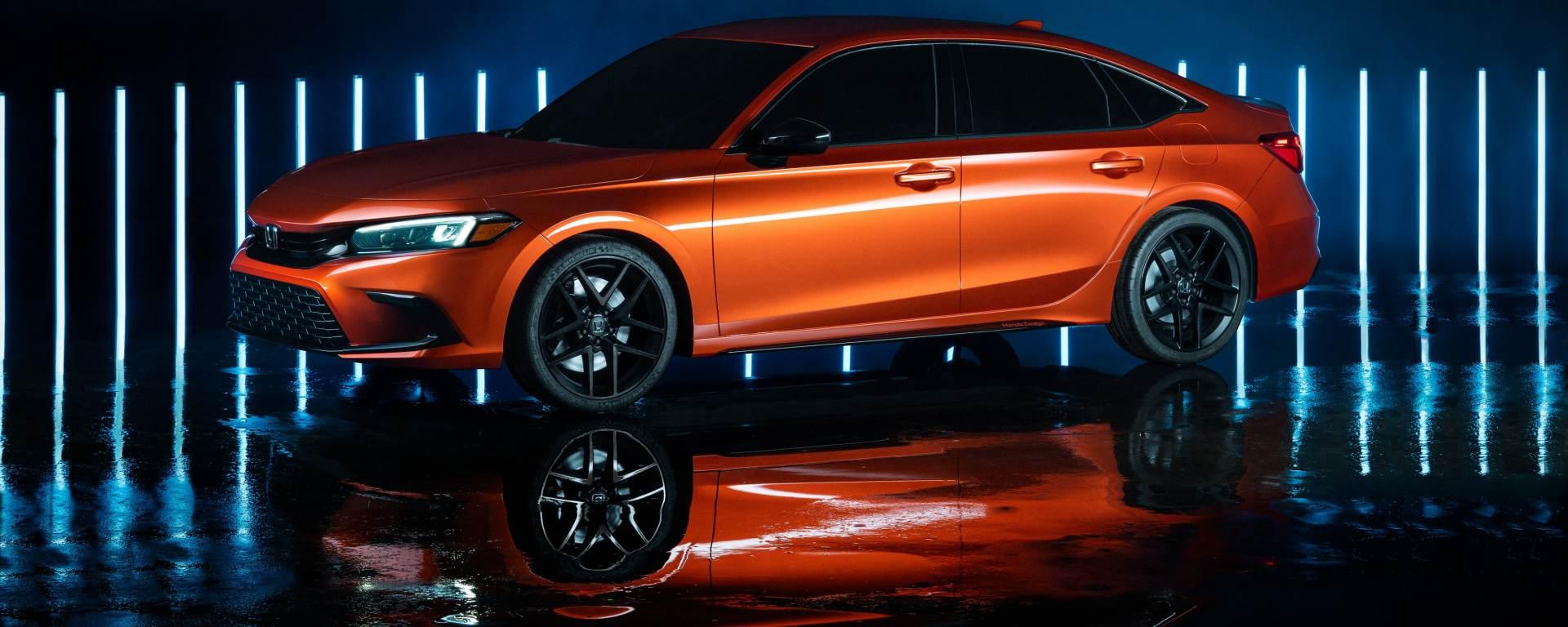 La nuova Honda Civic è stata svelata: le immagini