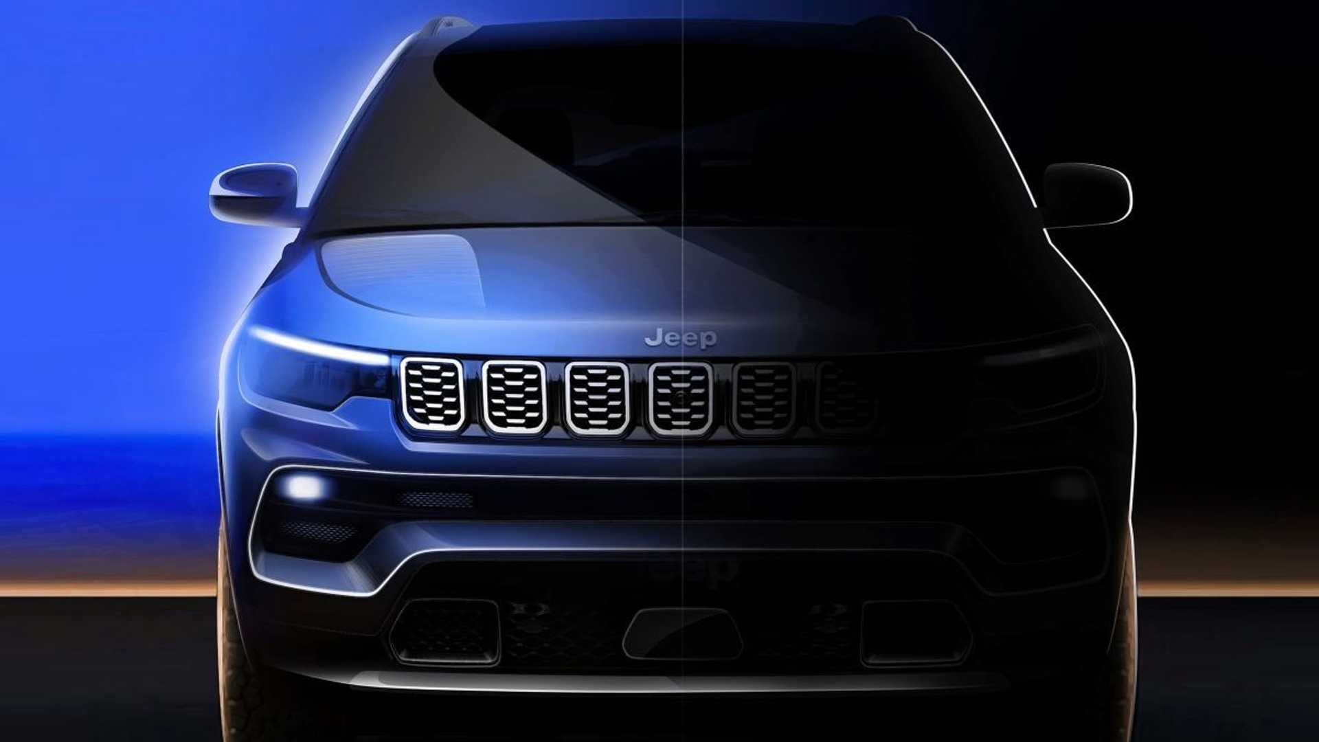 La nuova Jeep Compass aggiornata è stata rivelata