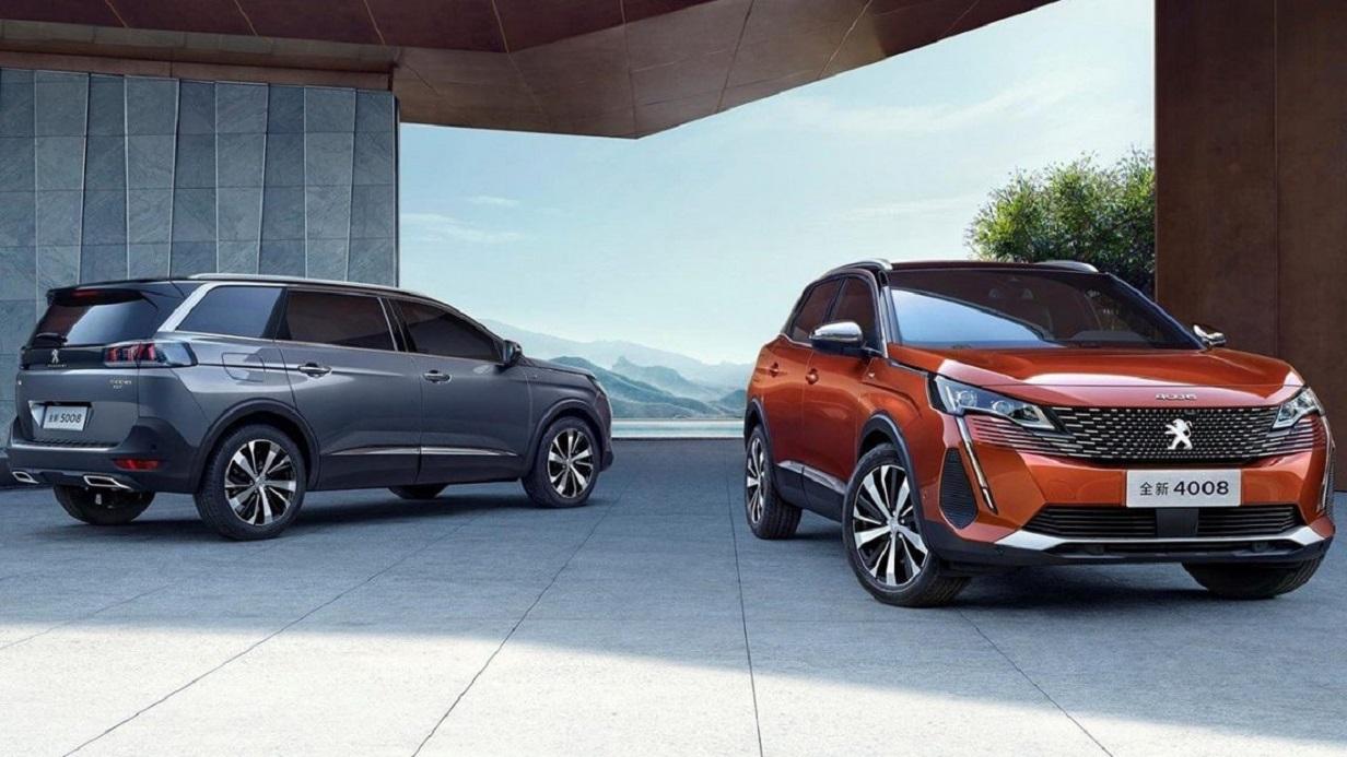 Offensiva Peugeot in Cina: svelate le nuove 4008 e 5008