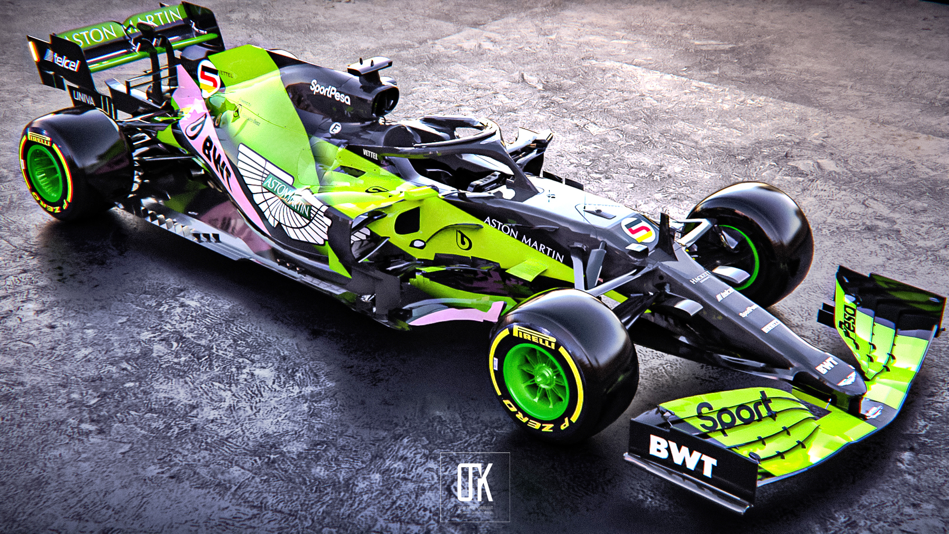 Aston Martin: ecco come potrebbe essere la sua auto in F1