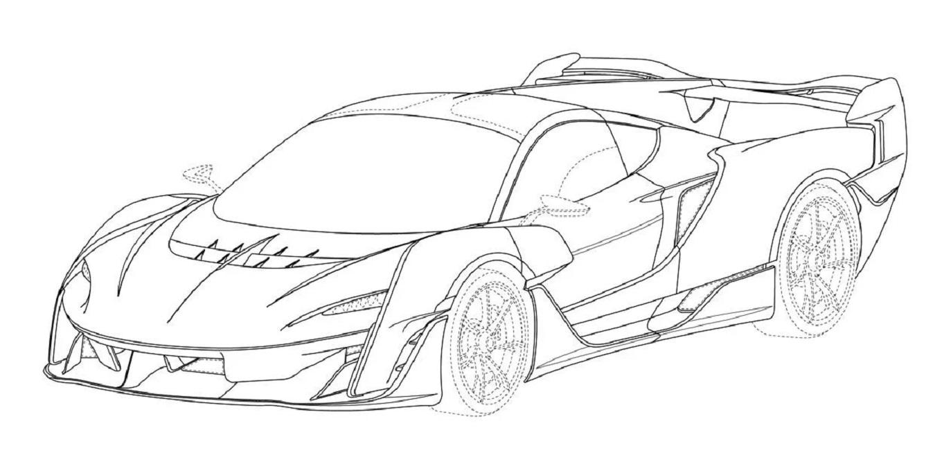 Ecco il design della futura McLaren Sabre