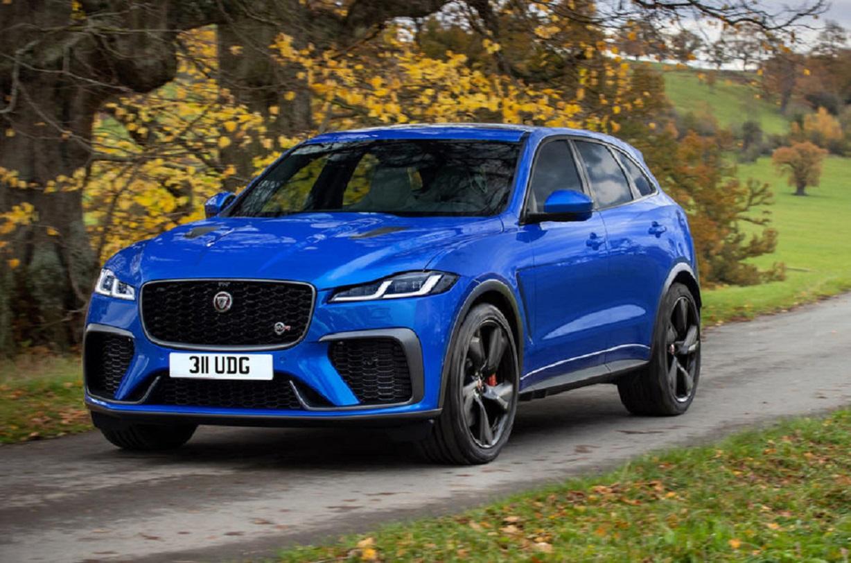 Nuova Jaguar F-Pace SVR: ecco le novità