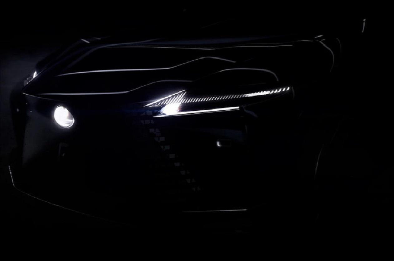 Lexus mostra in anteprima una nuova auto