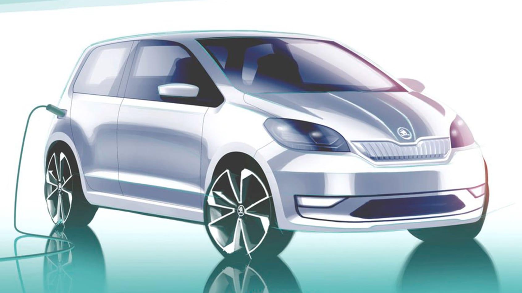 Skoda: una citycar elettrica su base Volkswagen ID.1