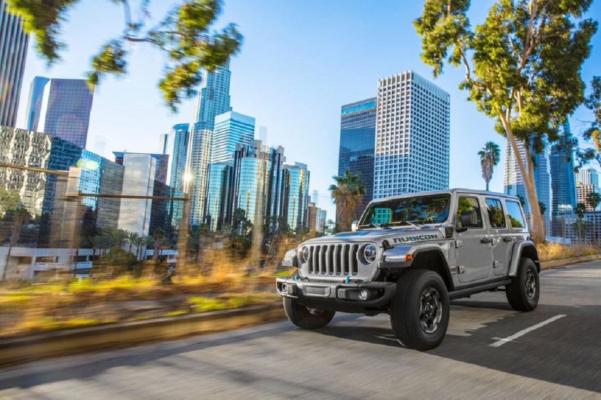 Jeep Wrangler: momento storico per il fuoristrada