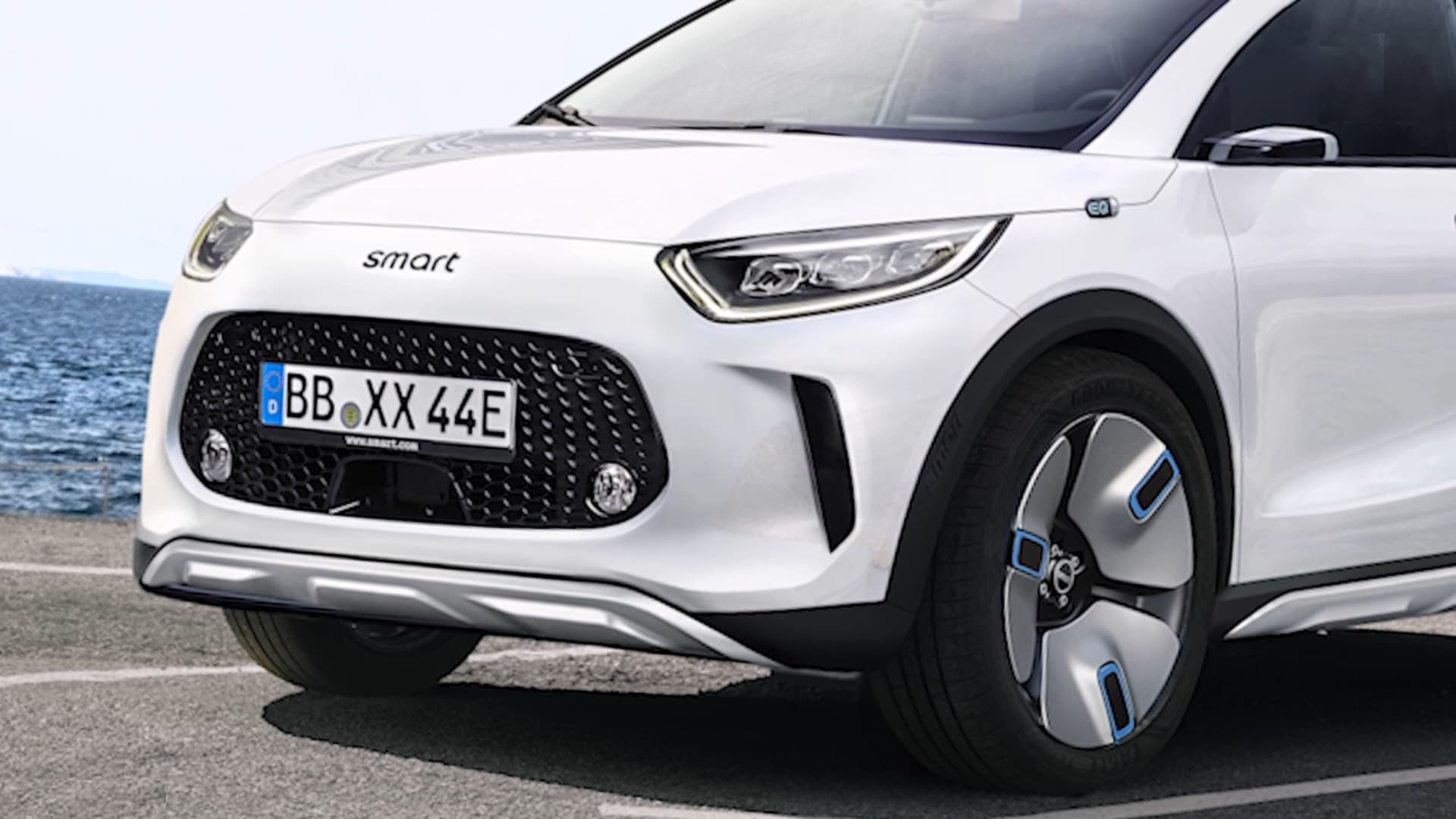 Smart conferma un SUV elettrico per il 2022
