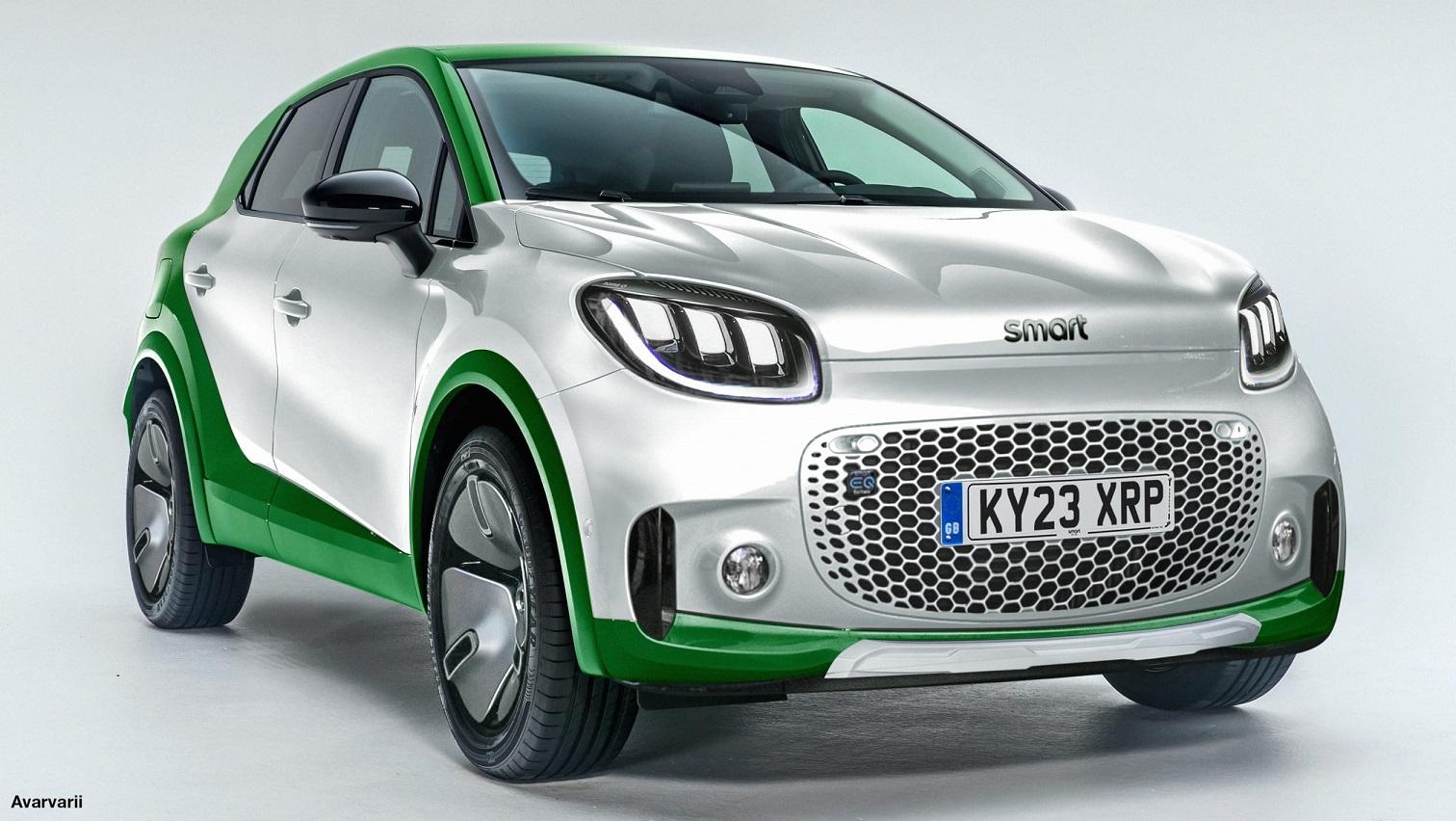 Il nuovo SUV elettrico Smart pronto a sfidare Peugeot e-2008