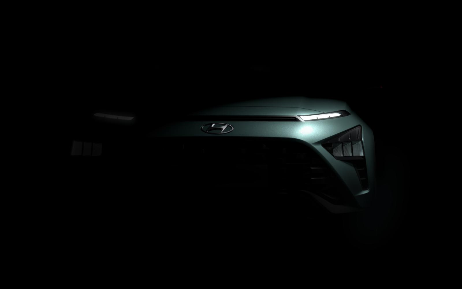 Hyundai Bayon: prime immagini ufficiali del SUV compatto