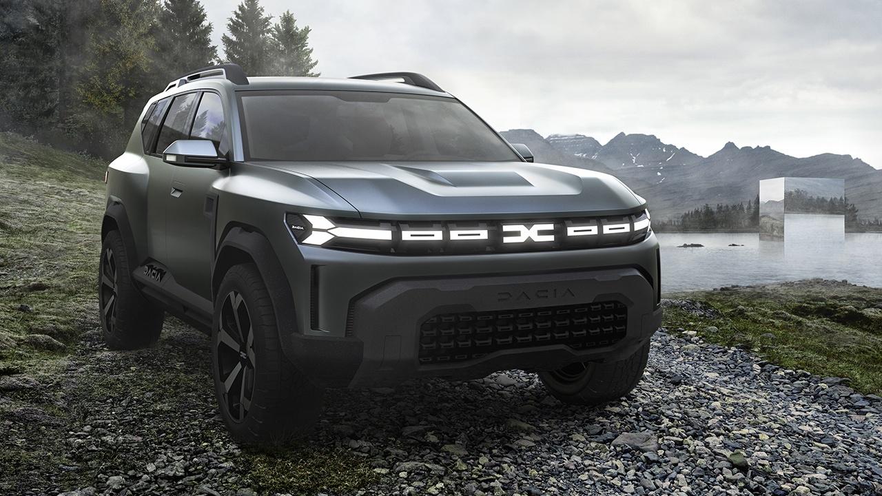 Dacia Bigster: il nuovo SUV a 7 posti sarà una rivoluzione
