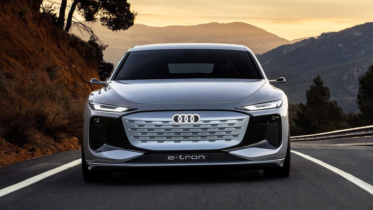 Audi A6 e-tron concept: foto ed anteprima della berlina elettrica