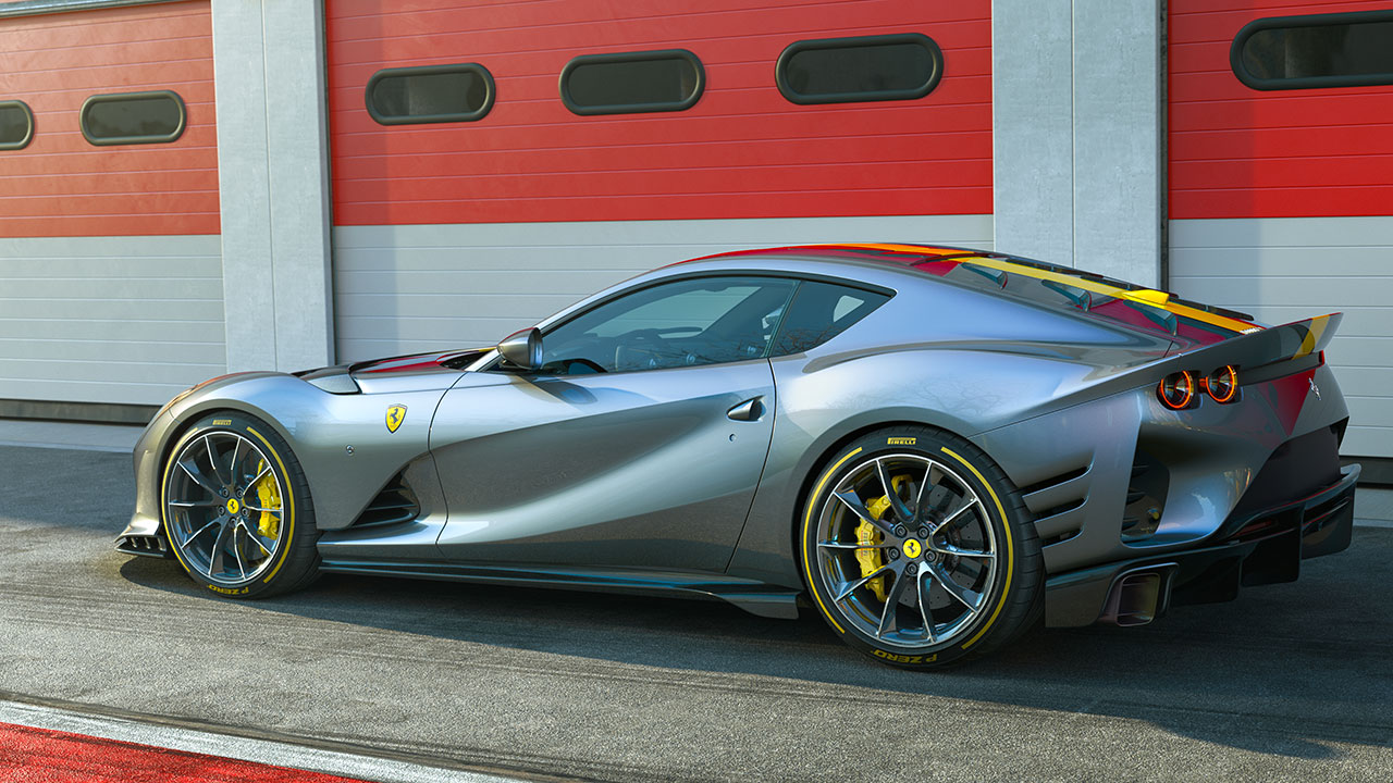 Ferrari 812 Competizione: foto, prestazioni e caratteristiche