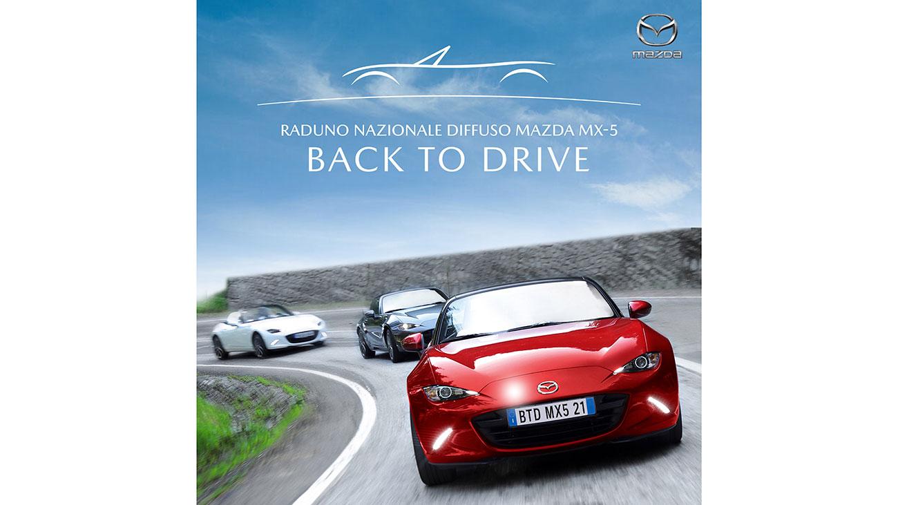 Mazda MX-5 Back to Drive: il raduno nazionale dedicato alla MX-5