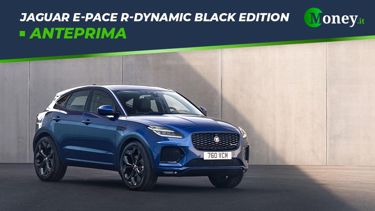 Jaguar E-Pace R-Dynamic Black Edition: prezzi, foto e caratteristiche