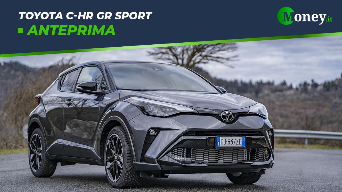 Toyota C-HR GR Sport: prezzi, foto e caratteristiche del SUV ibrido