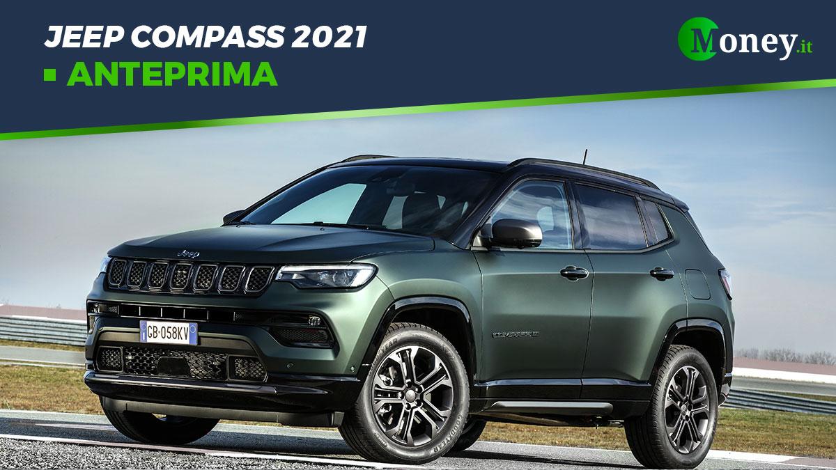 Jeep Compass 2021: prezzi, foto e caratteristiche
