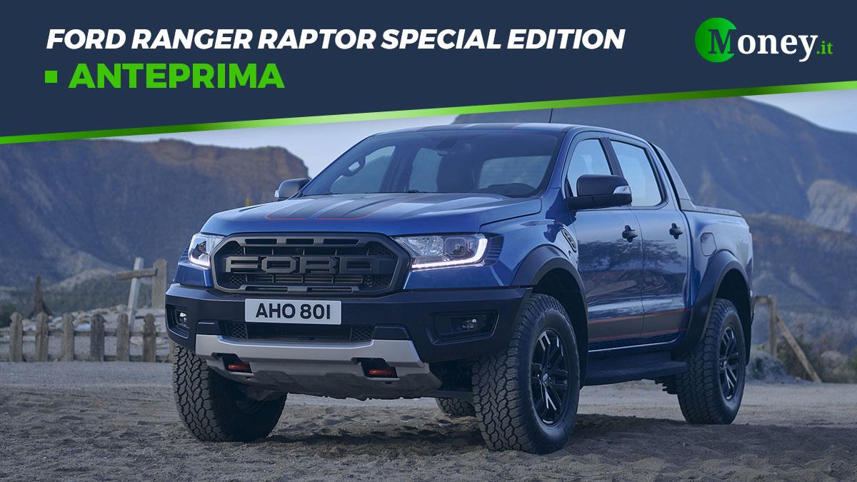 Ford Ranger Raptor Special Edition: foto e caratteristiche di un pick-up estremo