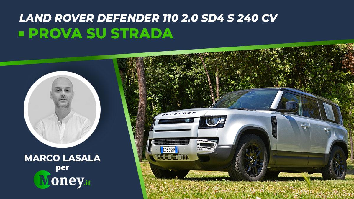 Land Rover Defender 110 2.0 SD4 S 240 CV: prova su strada