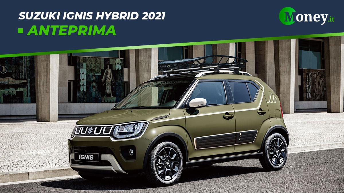 Suzuki Ignis Hybrid 2021: prezzi, foto e caratteristiche