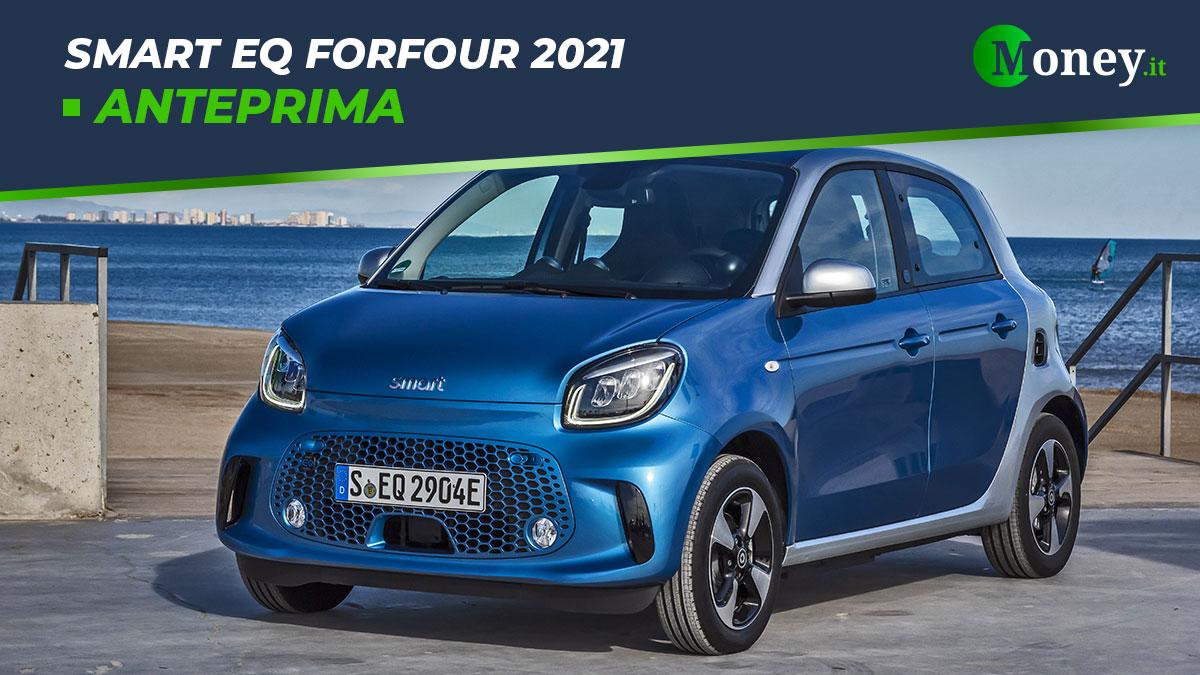 smart EQ forfour 2021: prezzi, foto e caratteristiche