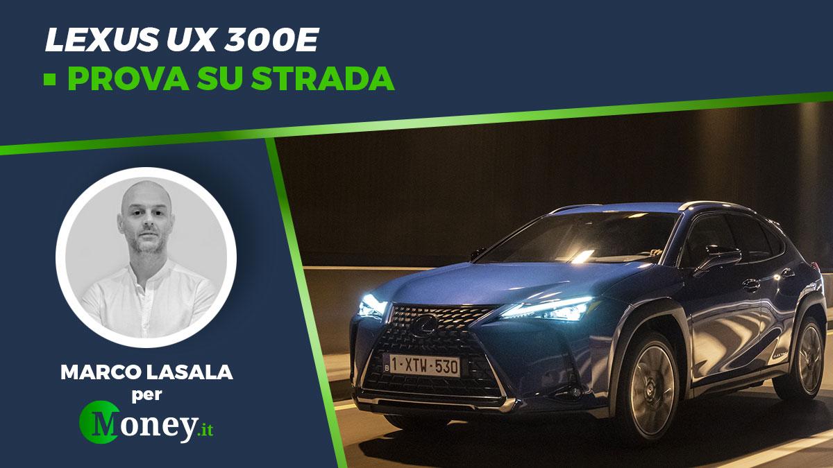 Lexus UX 300e: prova su strada