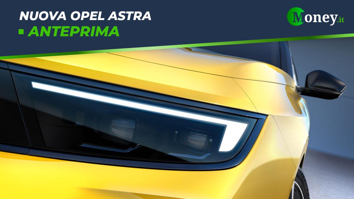 Nuova Opel Astra: foto e caratteristiche