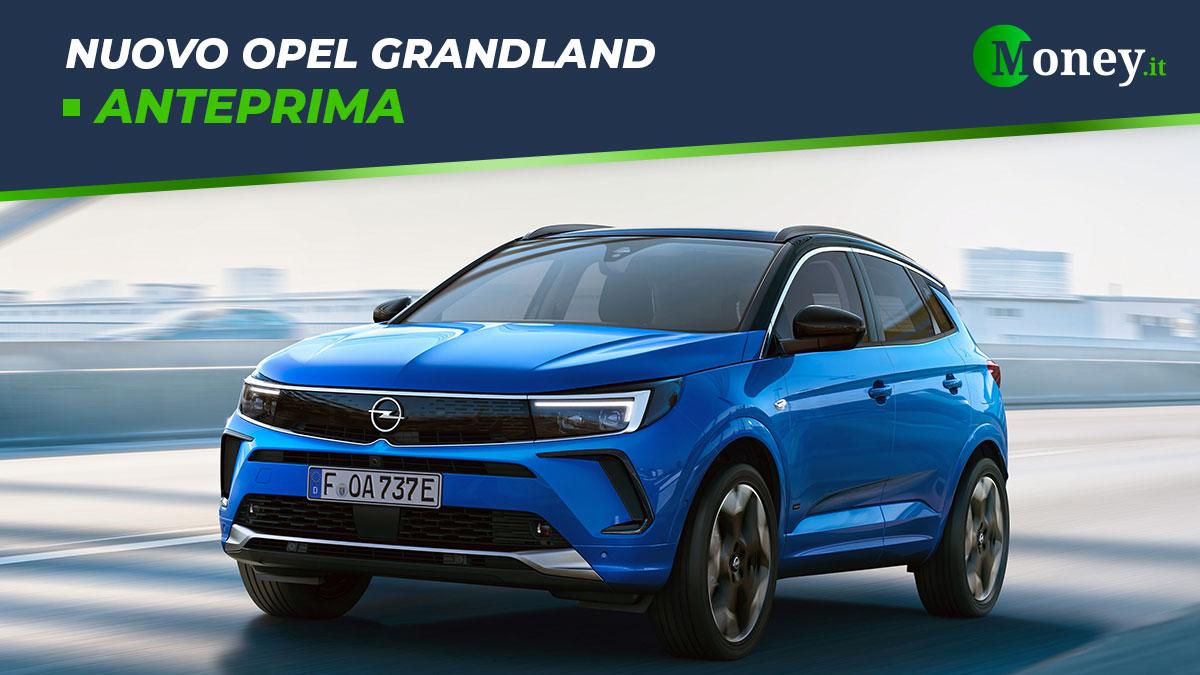 Nuovo Opel Grandland: prezzi, foto e caratteristiche