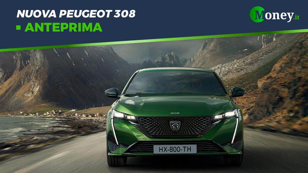 Nuova Peugeot 308: prezzi, allestimenti e foto