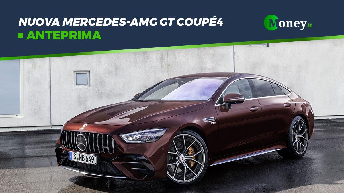 Nuova Mercedes-AMG GT Coupé4: foto e caratteristiche