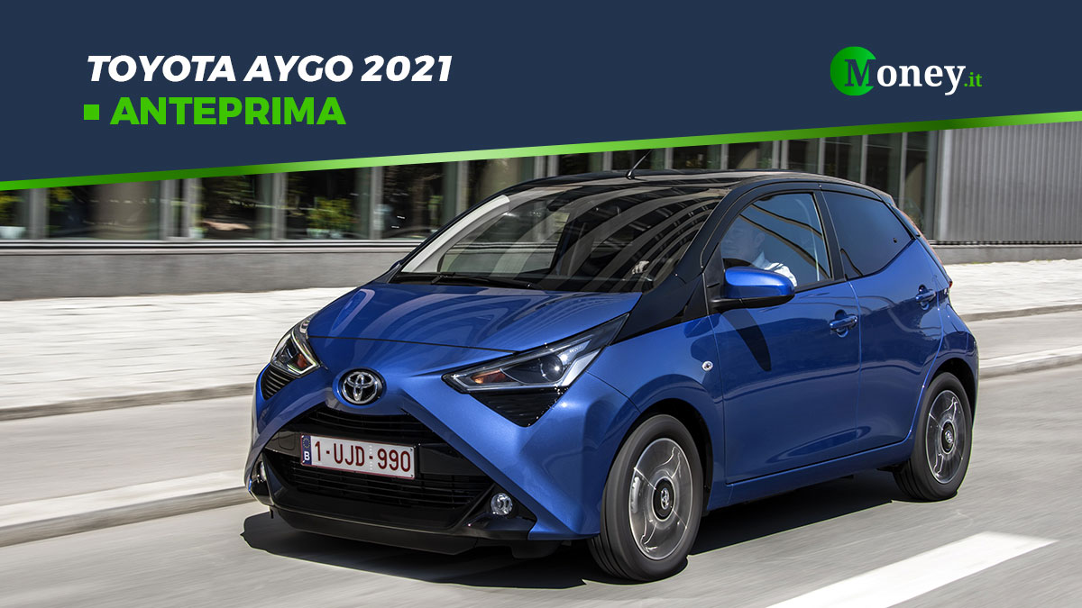 Toyota Aygo 2021: foto, motore e prezzi