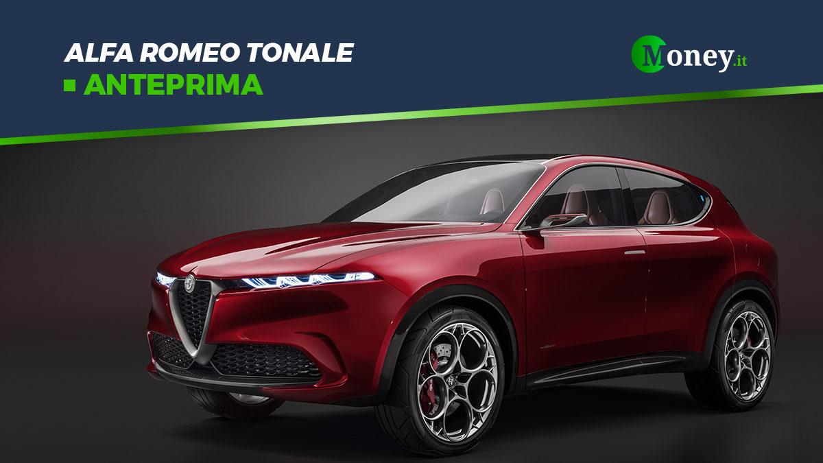 Alfa Romeo Tonale: anteprima del nuovo SUV plug-in hybrid