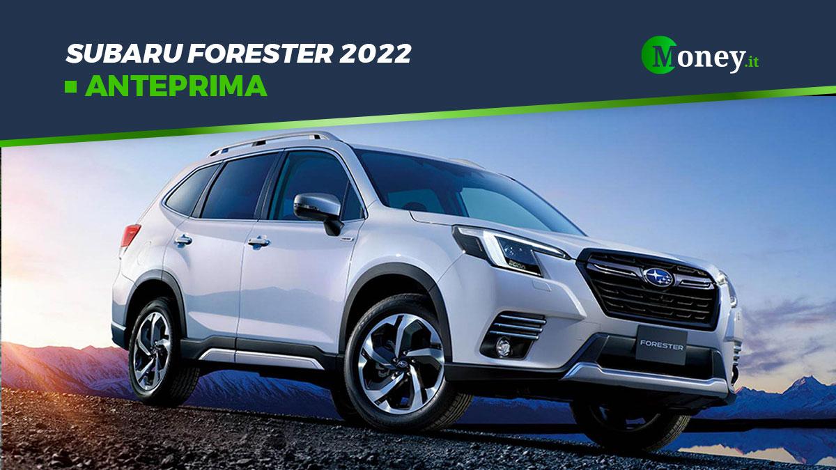 Subaru Forester 2022: foto, motore, allestimenti
