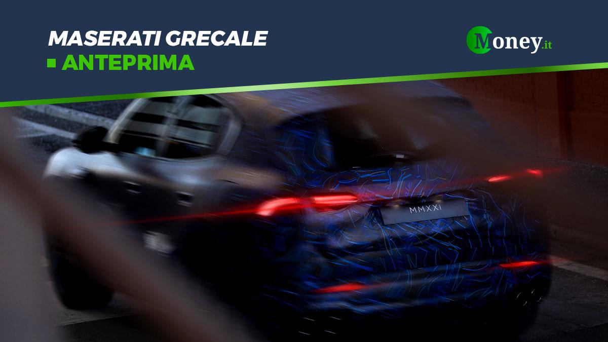Maserati Grecale: foto e motori del nuovo SUV ibrido