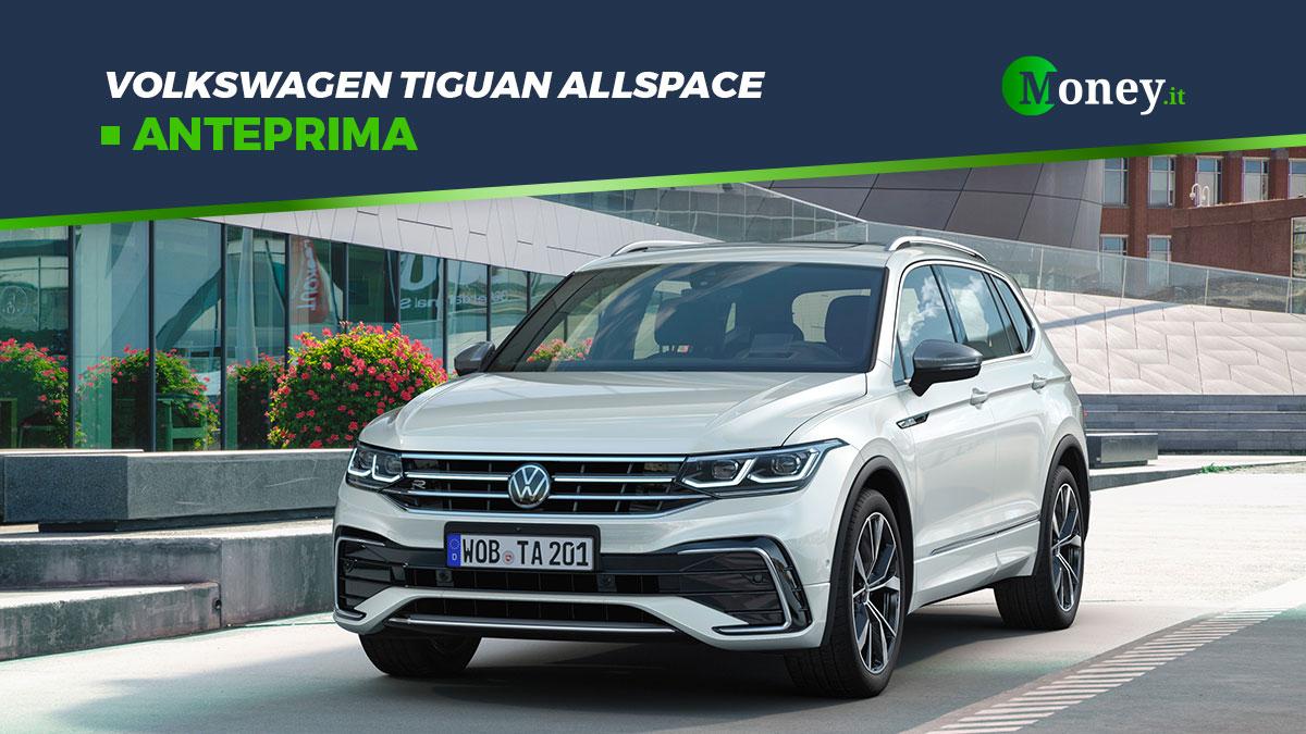 Volkswagen Tiguan: foto, motori e prezzi della Allspace