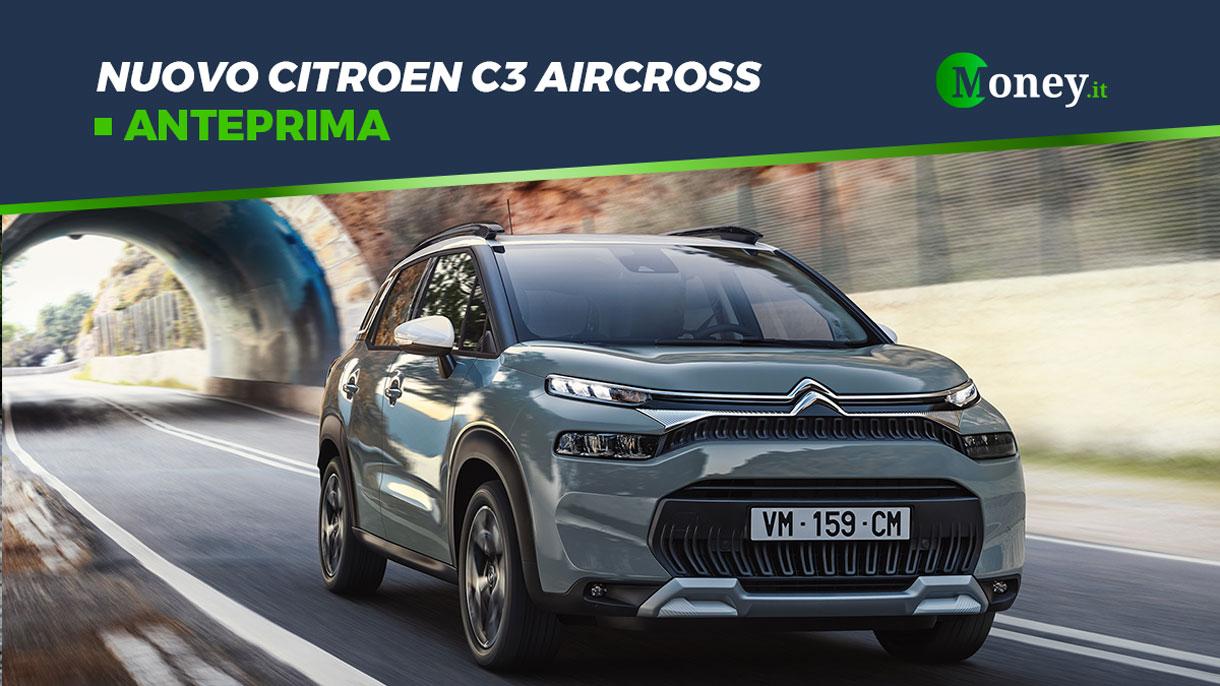 Nuovo Citroen C3 Aircross: SUV compatto e sicuro