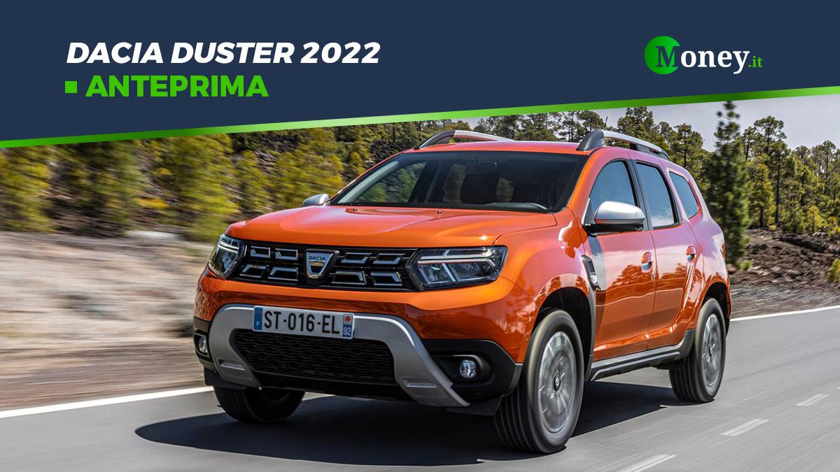 Dacia Duster 2022: foto, motori e prezzi