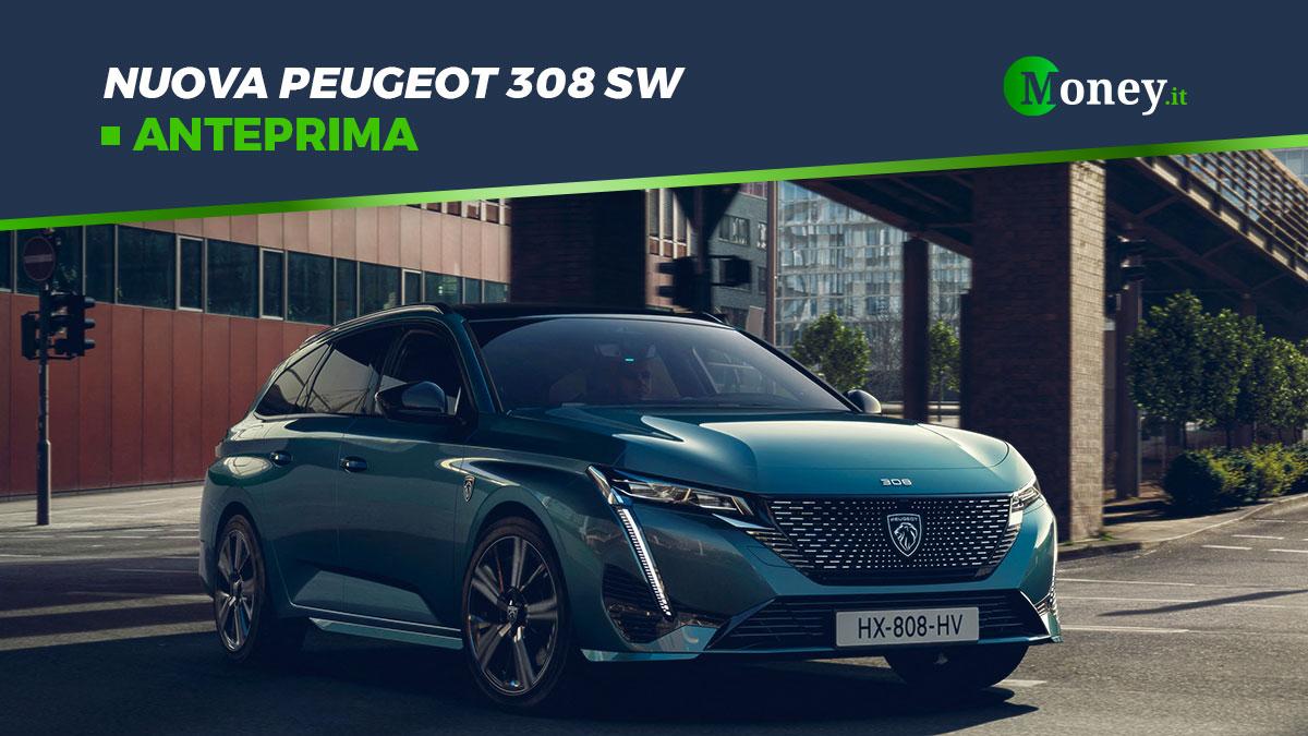 Nuova Peugeot 308 SW: foto, motori e prezzi