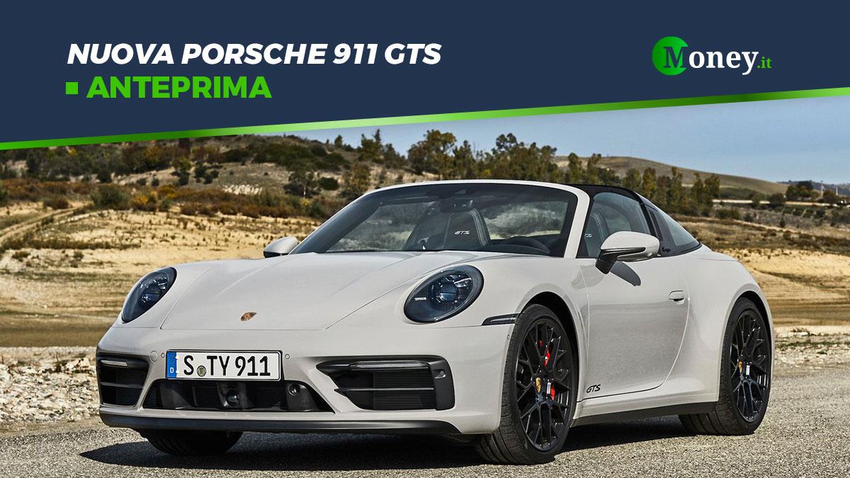 Nuova Porsche 911 GTS: prestazioni, prezzi e foto