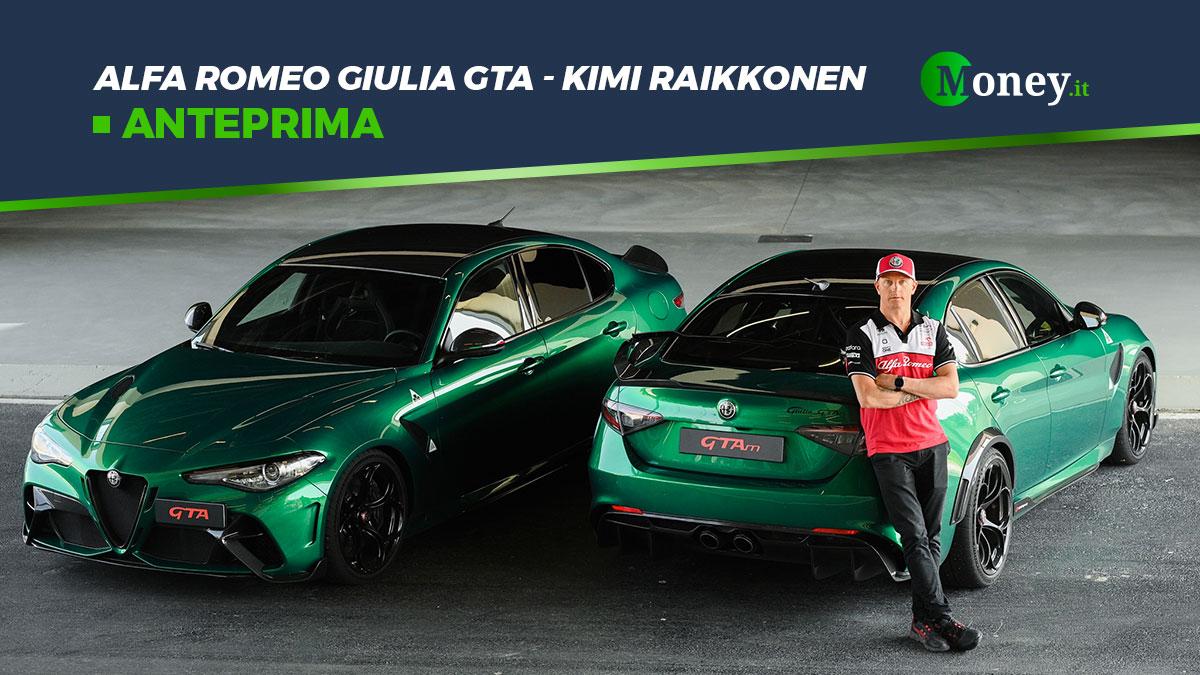 Alfa Romeo Giulia GTA certificata da Kimi Raikkonen
