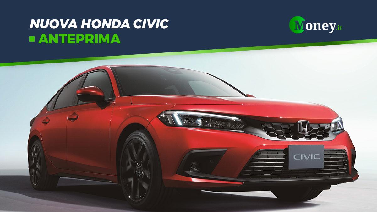 Nuova Honda Civic: svelate le prime foto ufficiali