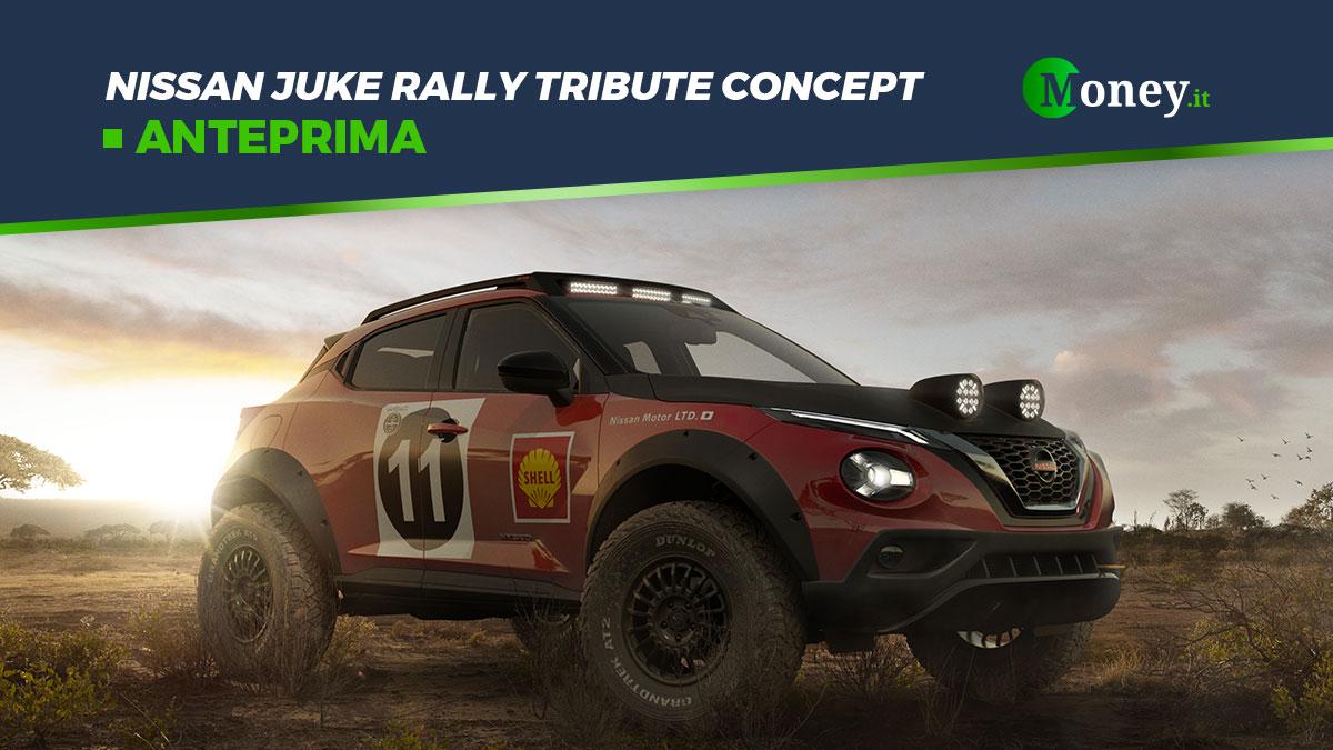 Nissan Juke Rally Tribute Concept: il SUV ibrido da rally