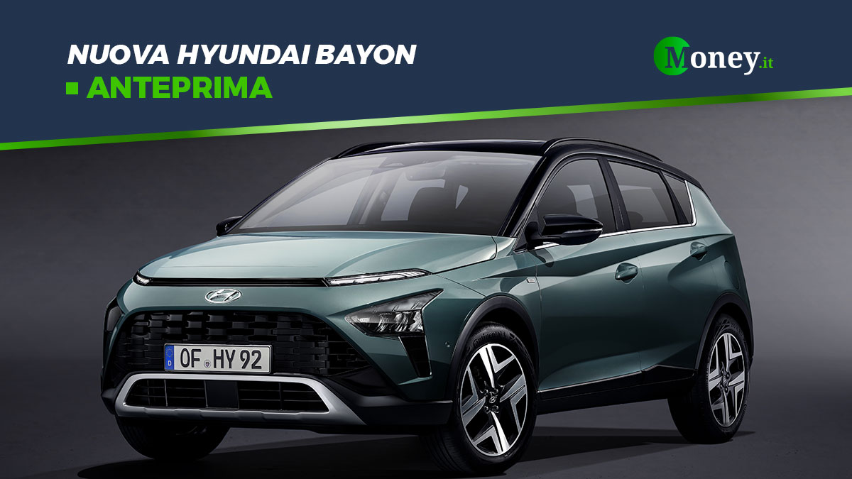 Hyundai Bayon: prezzi, foto e allestimenti