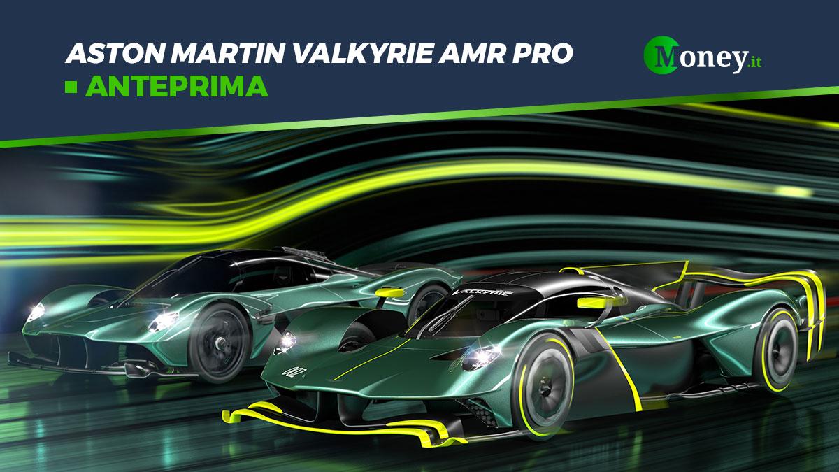 Aston Martin Valkyrie AMR PRO: foto e prestazioni