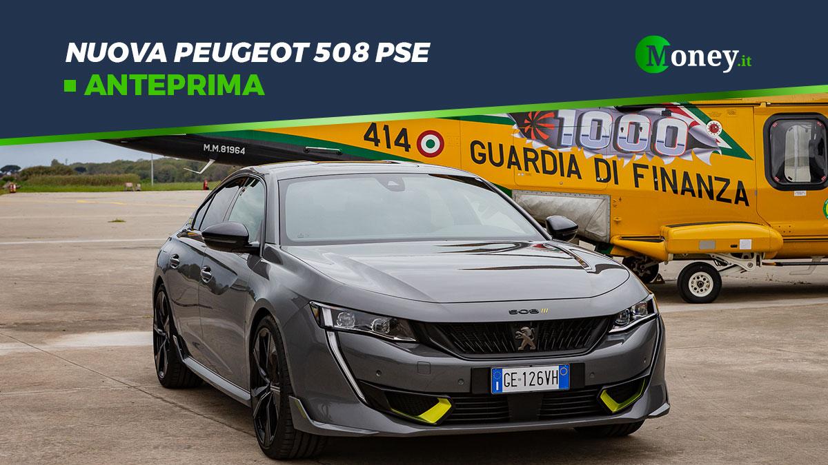 Nuova Peugeot 508 PSE: prezzi, foto e prestazioni