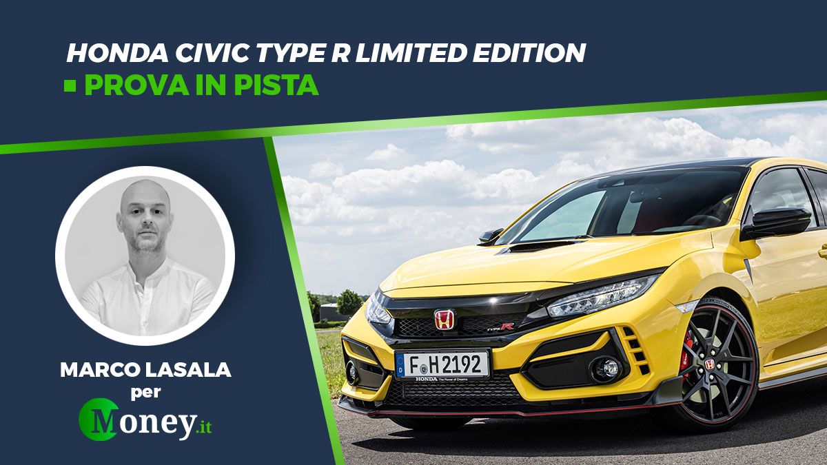 Honda Civic Type R Limited Edition: prova in pista a Vallelunga