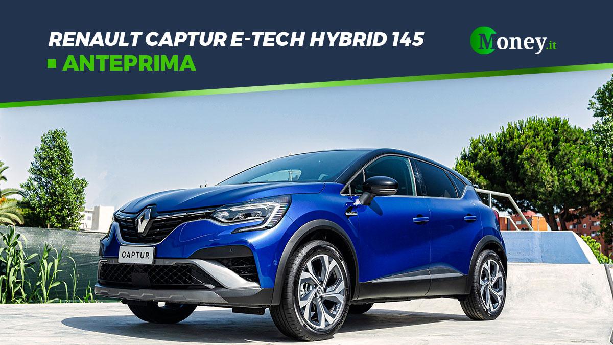 Renault Captur: prezzi, foto e allestimenti della E-Tech Hybrid 145